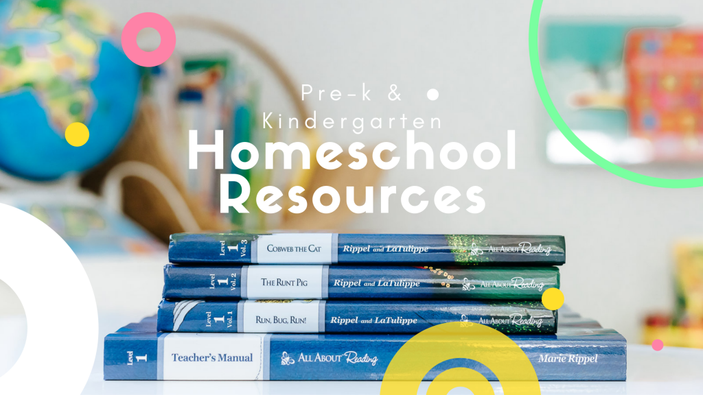 Homeschooling Preschool and Kindergarten